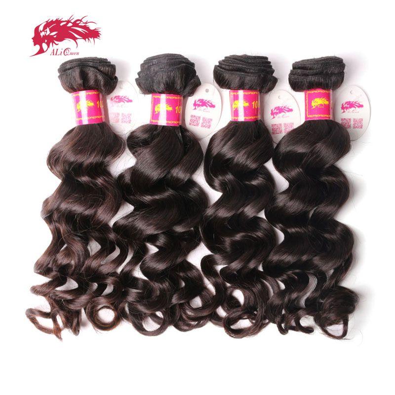Ali Queen Hair Products Brazilian Virgin Natural Wave Hair