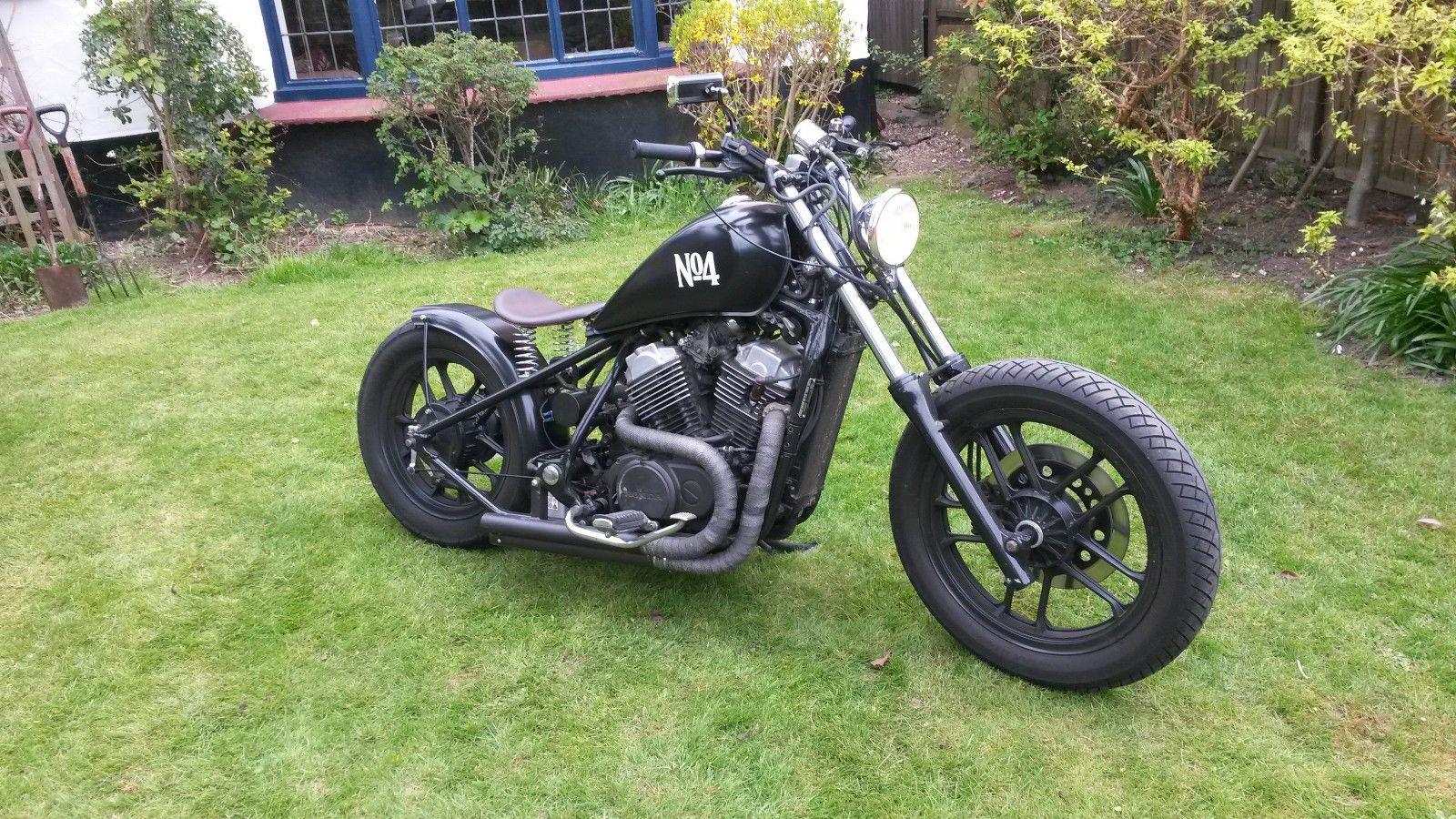 HONDA SHADOW VT500 BOBBER CHOPPER 1984 | eBay | motos ...