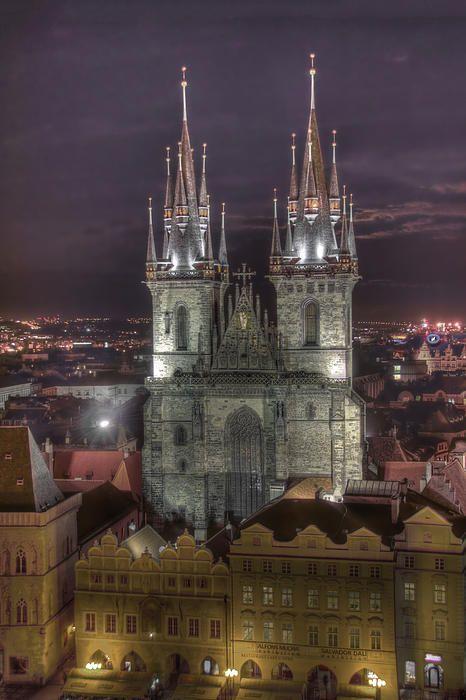 Prague At Night | Czech Republic | Photo By Alan Toepfer
