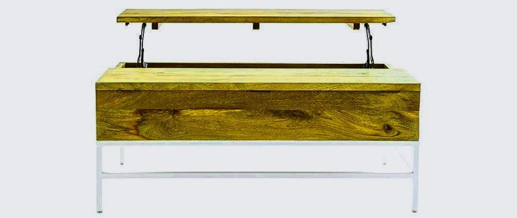 Glamour Table Basse Plateau Relevable Conforama Expert In 2020