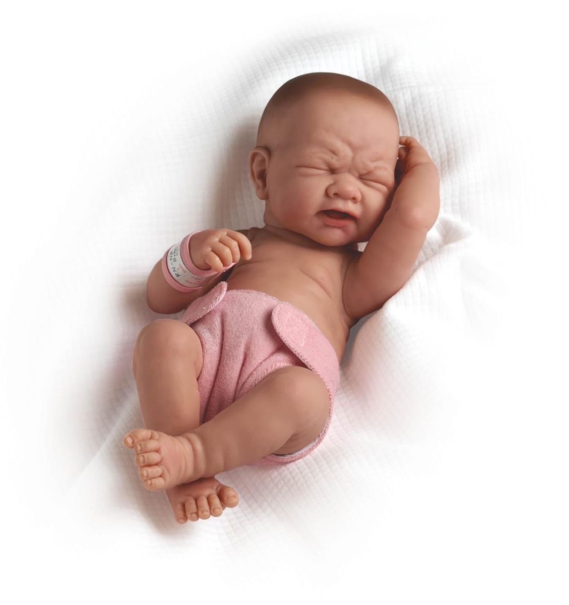 Crying Newborn Baby Doll With Pink Diaper And Realistic Face Baby Dolls Baby Dolls For Sale Boy Baby Doll