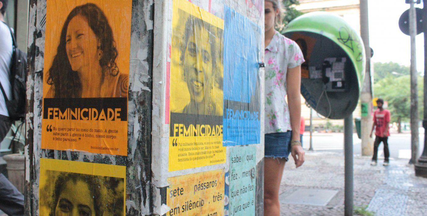 O Atados, em parceria com SP Invisível, Círculo de Sonhadoras, Fábrica de Sonhos, Acupuntura Urbana e Hey Sampa, promove a segunda edição do Feminicidade, projeto que tem como objetivo espalhar cartazes com histórias de mulheres inspiradoras pelas cidades.