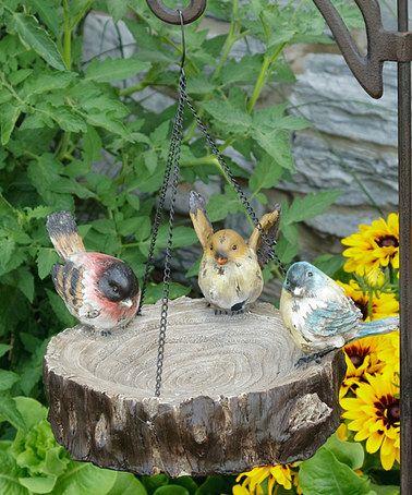 Love+this+Stump+Bird+Feeder+on+#zulily!+#zulilyfinds