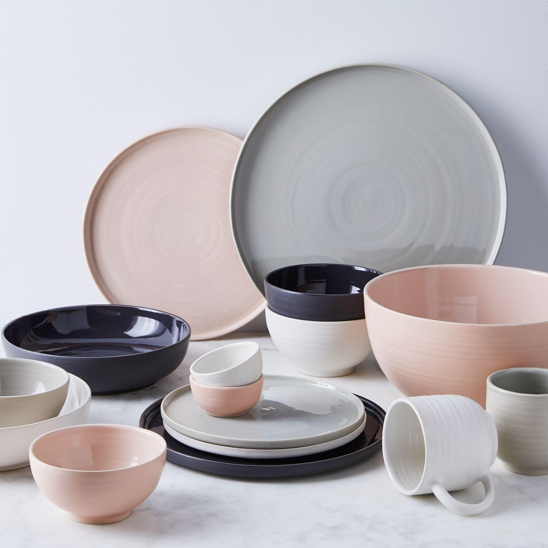 Shaker Ceramic Dinnerware In 2020 Ceramic Dinnerware Modern Dinnerware Organic Ceramics