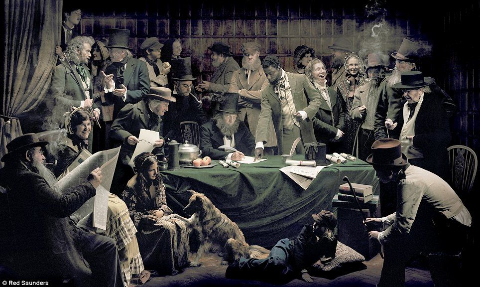Red Saunders : William Cuffay and the London Chartists  (1842)