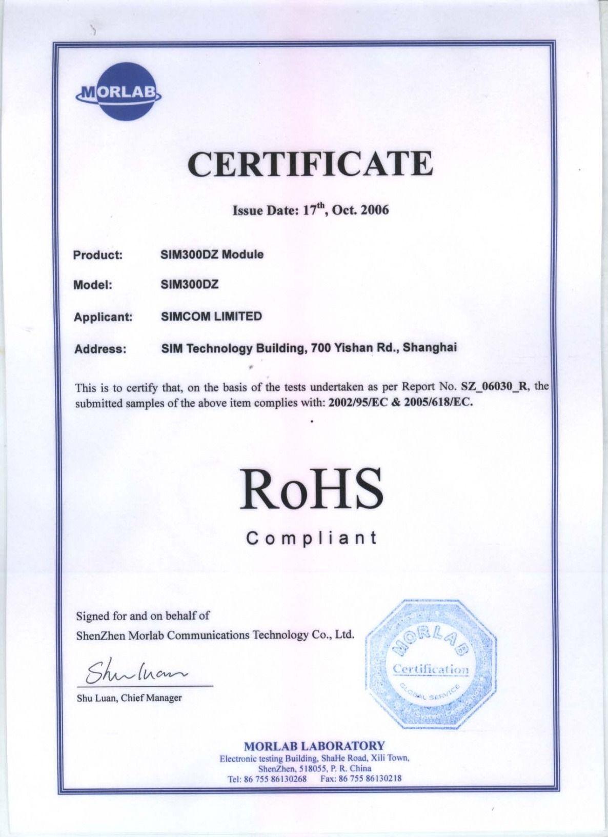 Editable Rohs Compliance Certificate Template Ppt In 2021 Certificate Templates Templates Gift Certificate Template Rohs certificate of compliance template