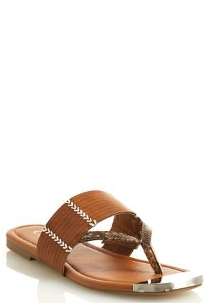 Cato Fashions Steel Toe Thong Sandals #CatoFashions