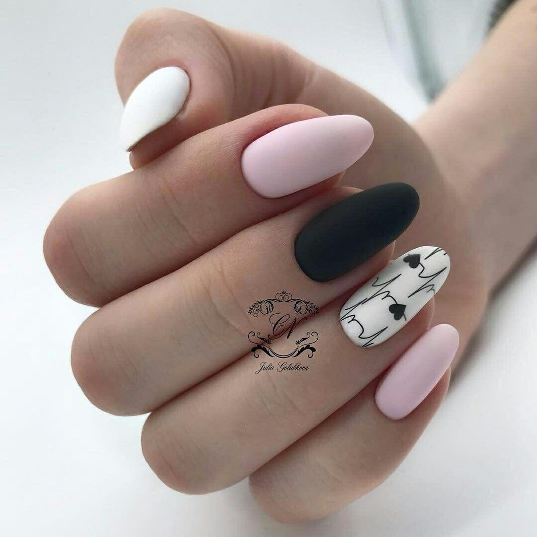 Nail art! Unghii roz-mov cu stickere. - YouTube
