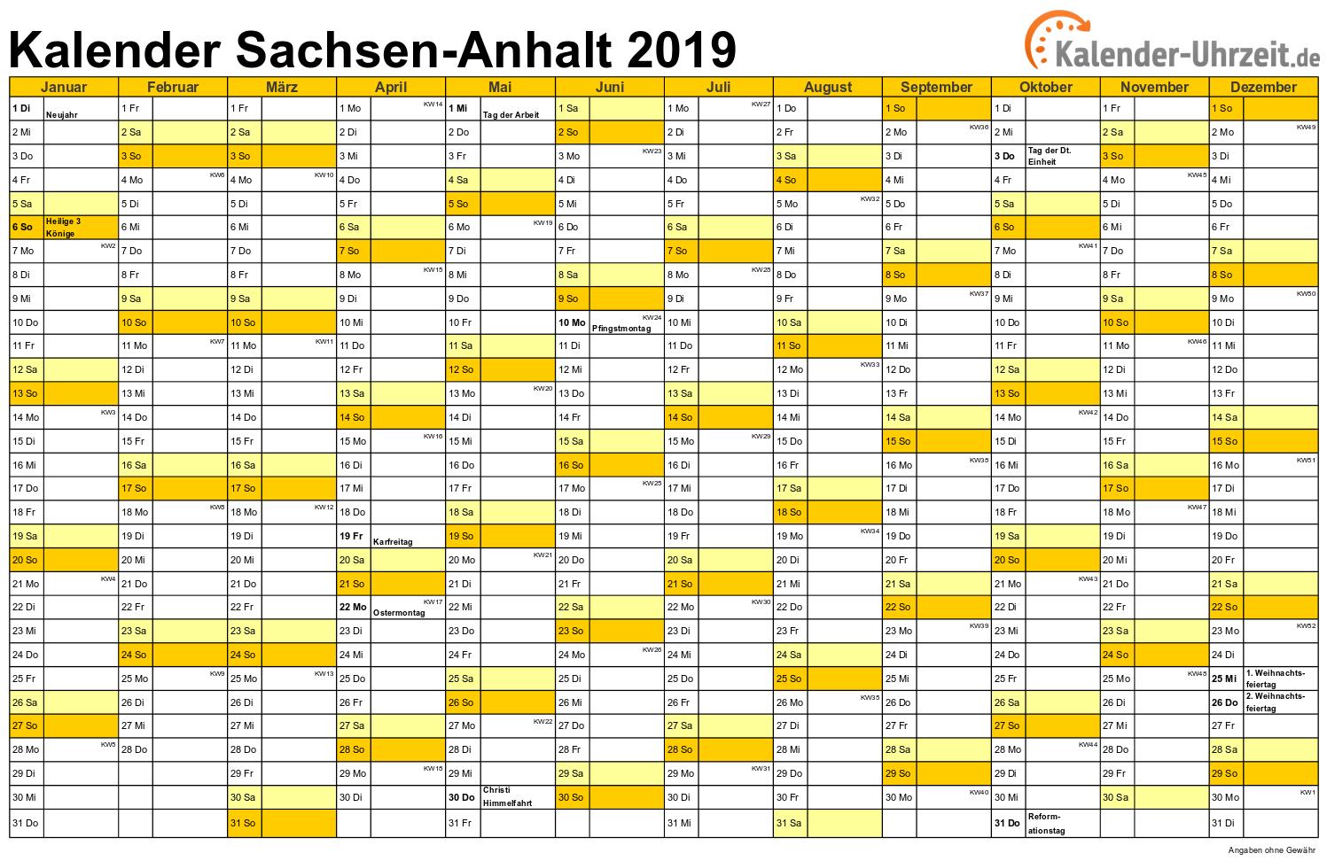 kalenderwochen 2018 mit feiertagen