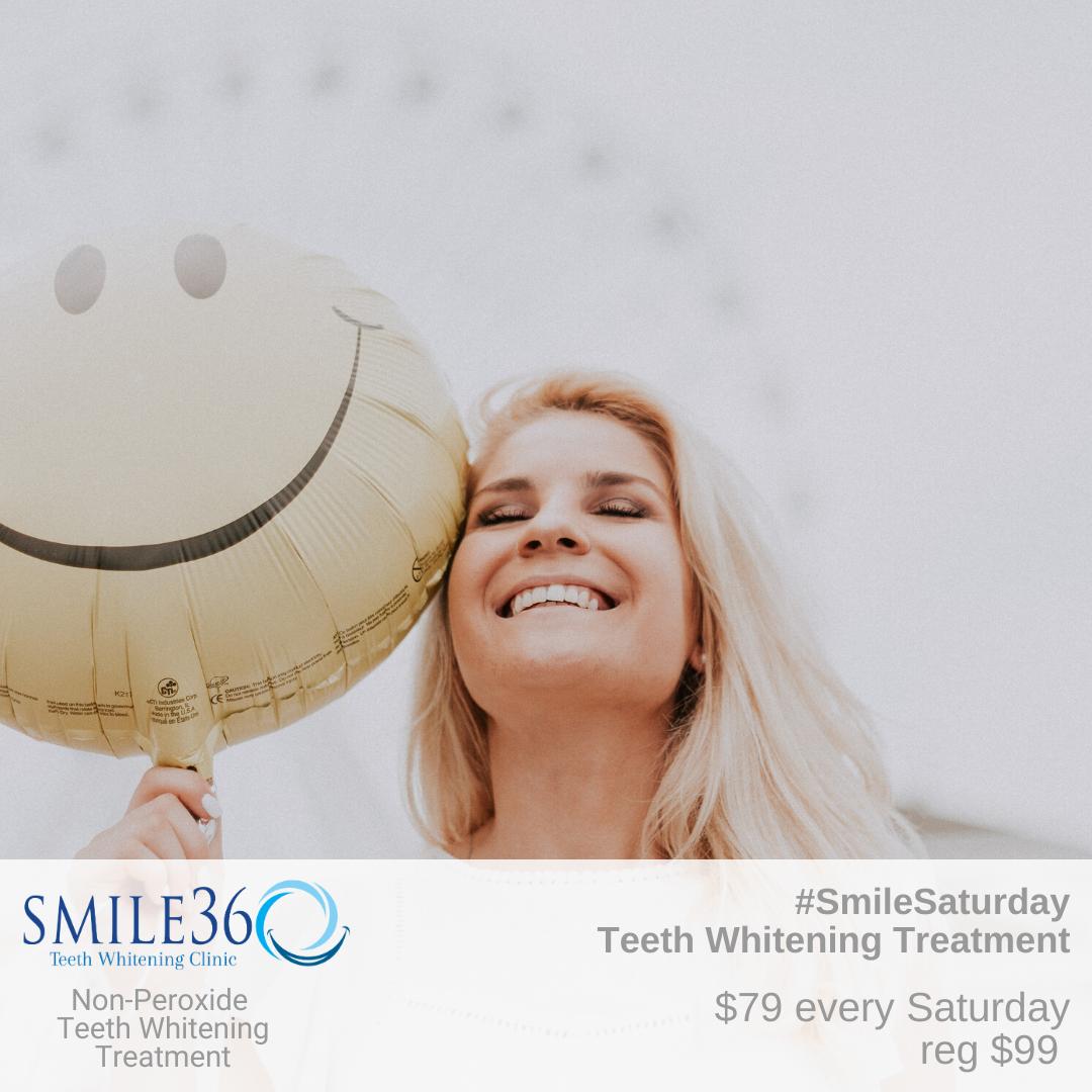 SMILE BRIGHT, IT'S SMILESATURDAY Enjoy a Brighter