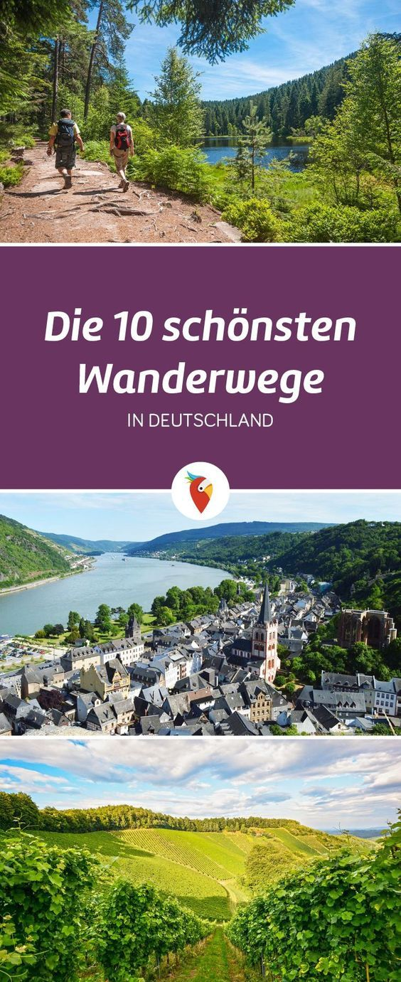 das sind die 10 sch nsten wanderwege in deutschland reisen pinterest reisen wandern und. Black Bedroom Furniture Sets. Home Design Ideas