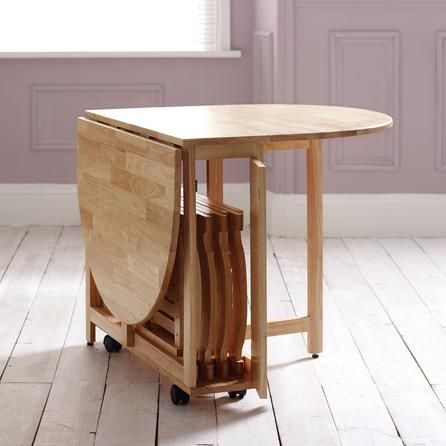 Rubberwood Butterfly Table With 4 Chairs Dunelm Kitchen Table Small Space Folding Dining Table Compact Dining