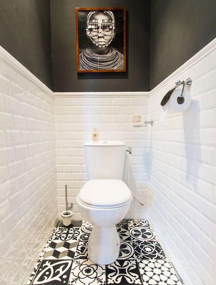 1001 id es deco wc petit coin et coins. Black Bedroom Furniture Sets. Home Design Ideas