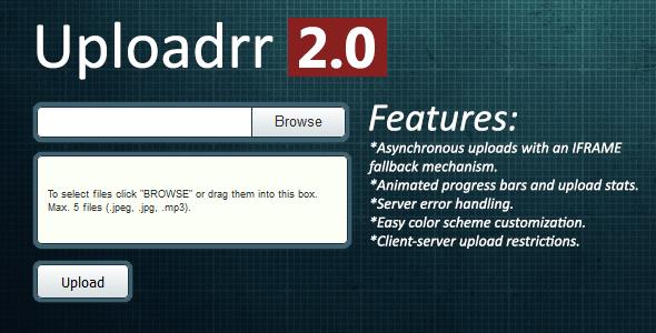 Uploadrr Html5 File Uploader