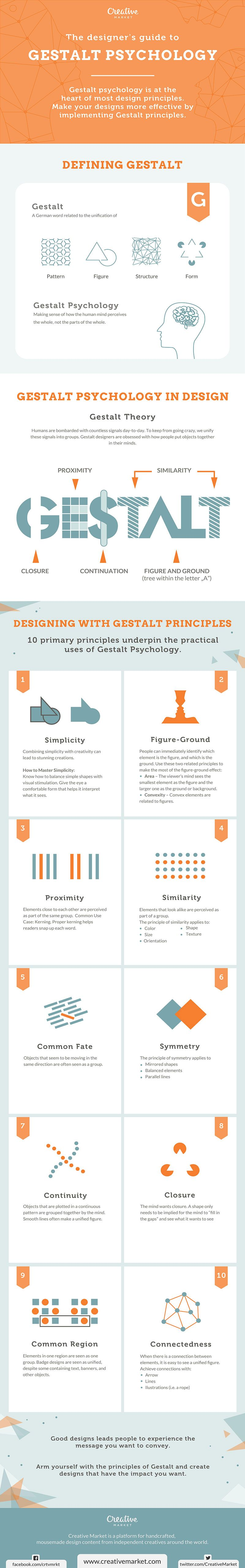 Web Design Psychology 10 Design Principles To Follow Infographic Graphic Design Tips Design Theory Graphic Design