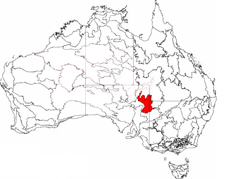 location of the strzelecki desert australia