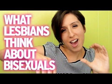 What lesbians think of bisexuals