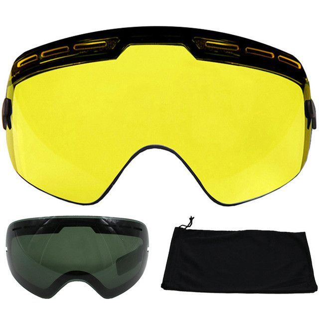 55798f27f70d Brand Ski Goggles Double Lens UV400 Anti-fog Large Spherical Skiing Glasses  Masks Snowboard Goggles