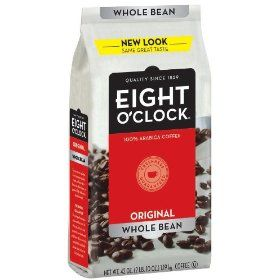 Best Selling: Eight O'Clock Coffee, Original Whole Bean, 42-Ounce Package