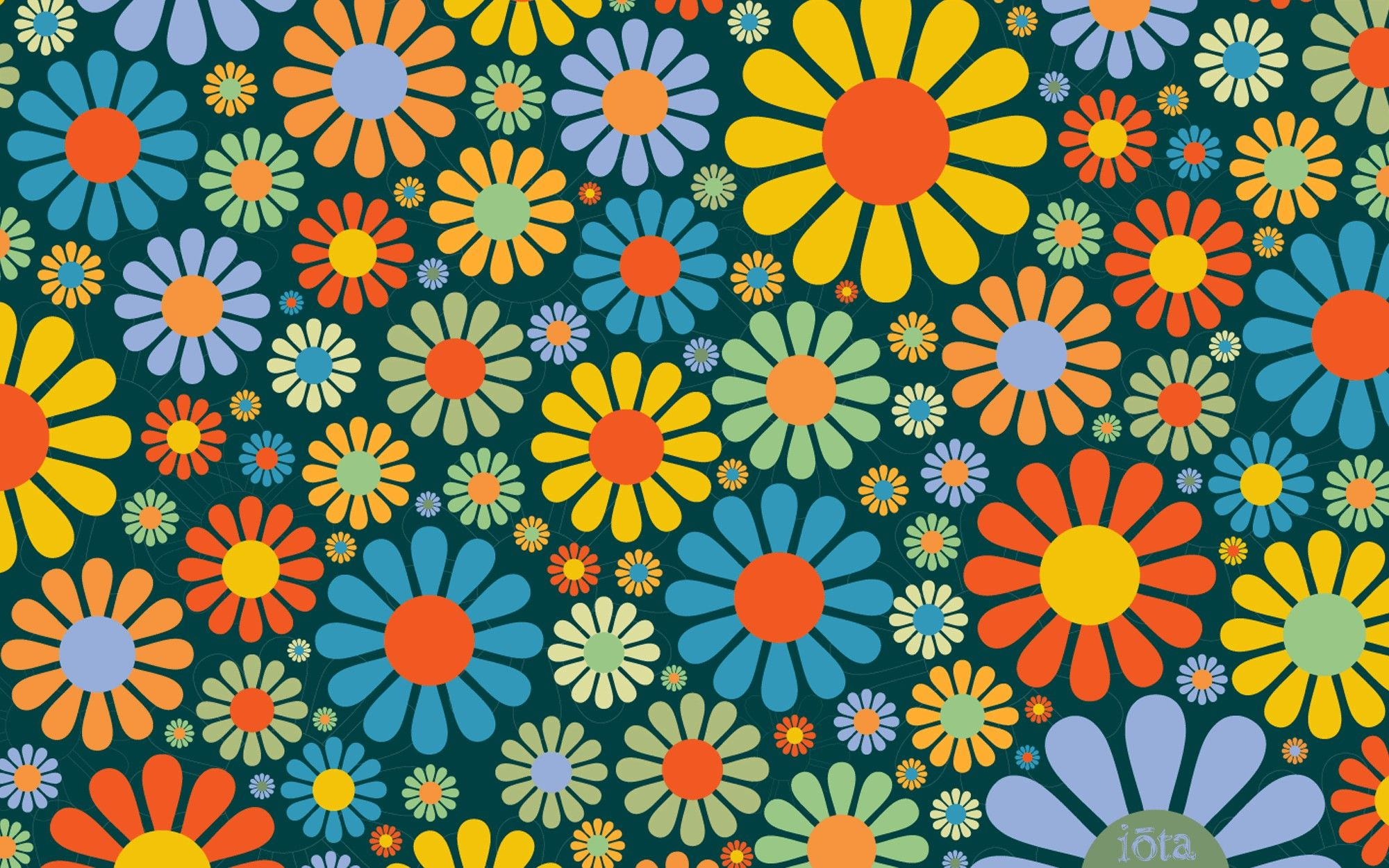 Pin By Kimberlina Gonsalves On Victorian Paper S Many Other S Hippie Wallpaper Flower Wallpaper Retro Prints