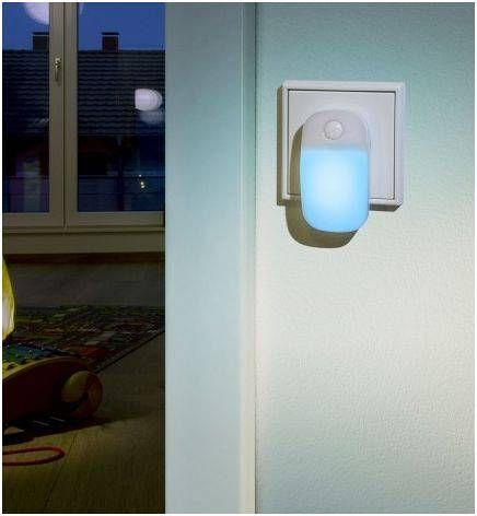 "Ansmann LED Guide ""Ambiente blue"" yövalo"