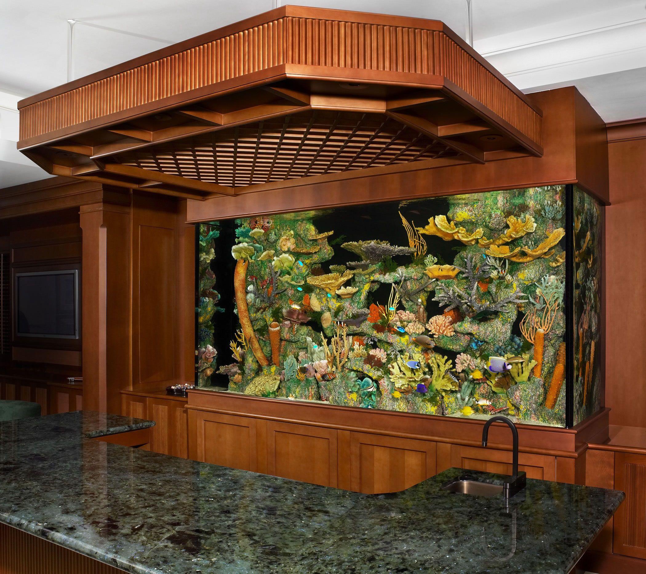 Giant Aquariums 300 GALLON SALT WATER AQUARIUM $3000