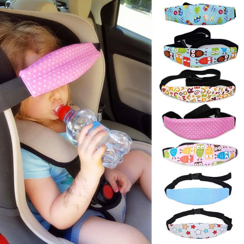 Children Baby Head Support Stroller Buggy Pram Car Seat Belt Sleep Safety Strap
