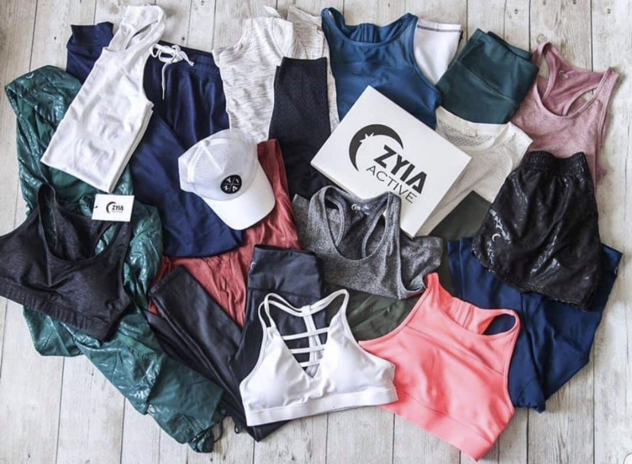Zyia Active is a premium athletic apparel brand. ZA has