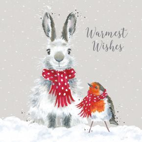 'Snow Angels' Luxury Boxed Christmas Cards