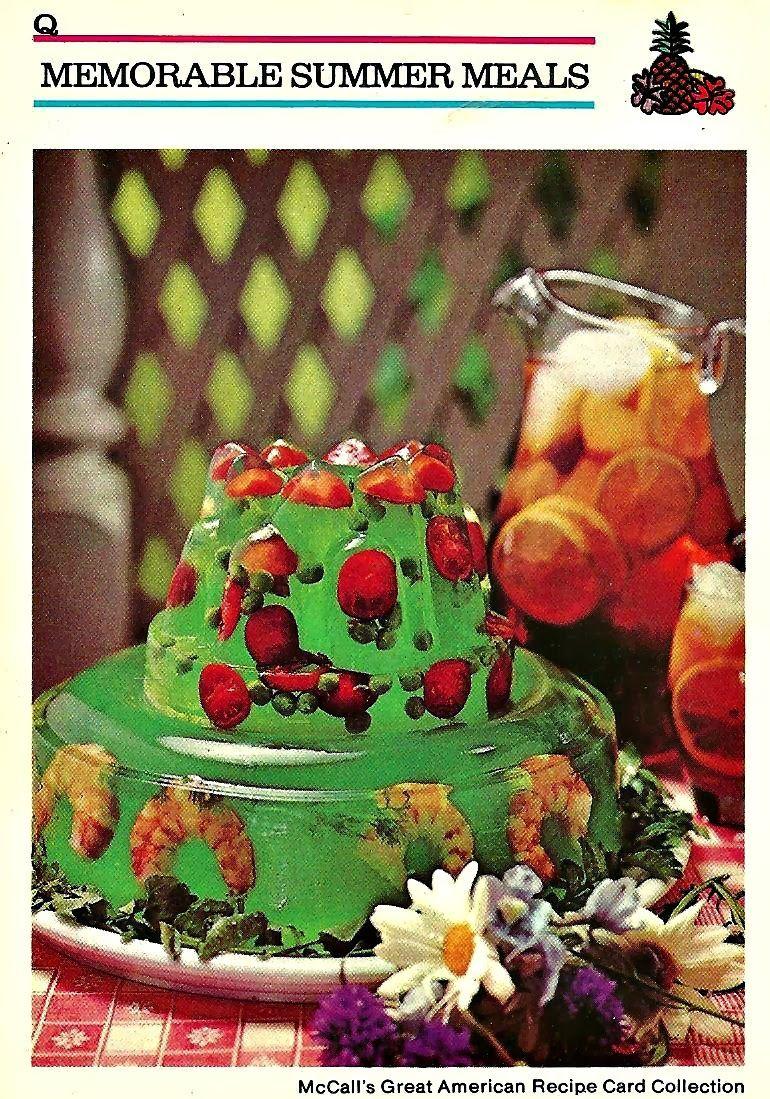 Memorable Summer Meals - Vintage Style