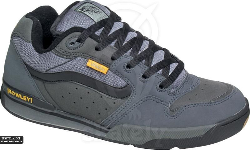 1866ead766fb Vans Shoes - Rowley XLT - Grey   Skately Library