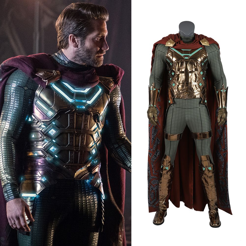 Spider Man Far From Home Mysterio Costume Spiderman Costume Halloween Suits Super Hero Outfits