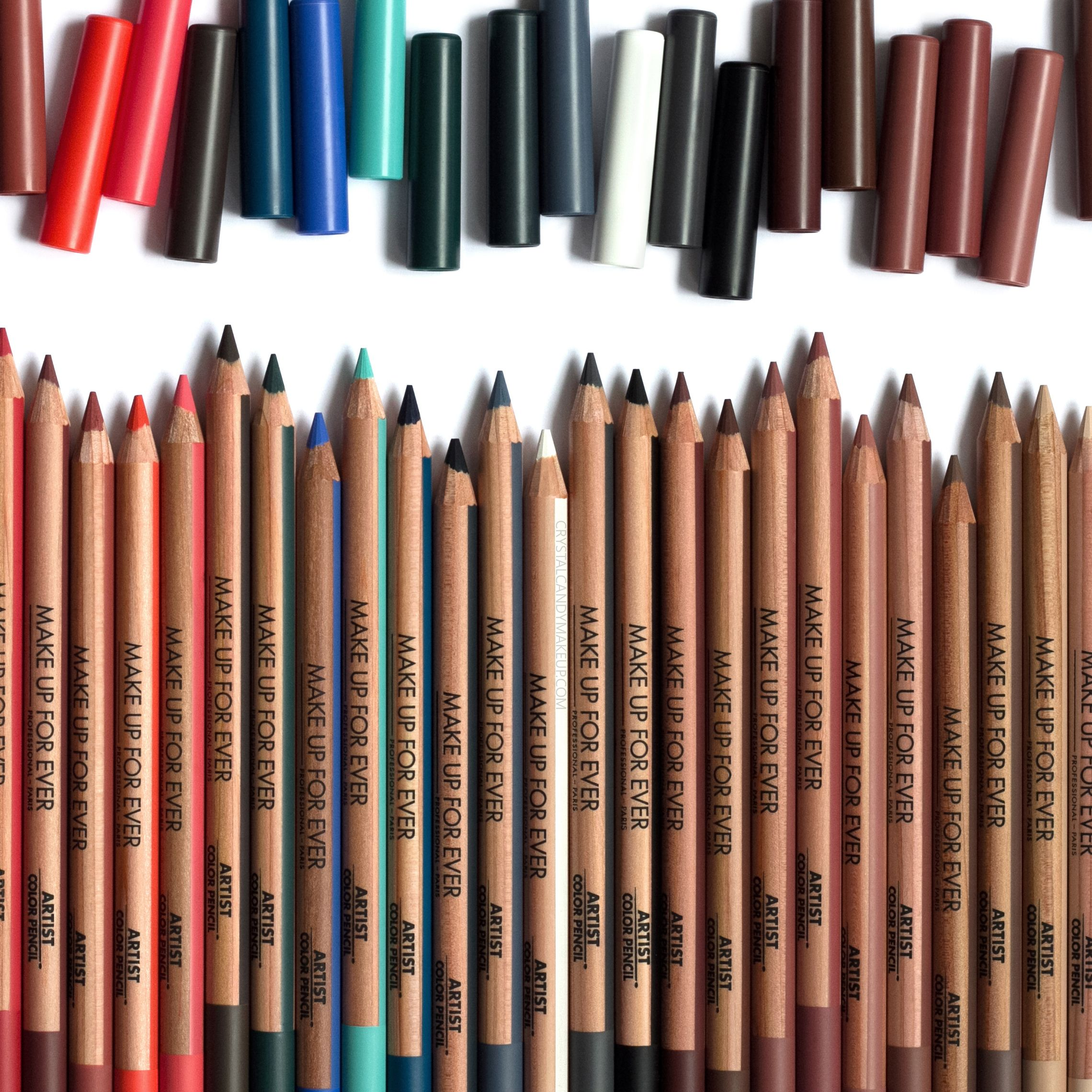 Make Up For Ever Artist Color Pencils, review and swatches