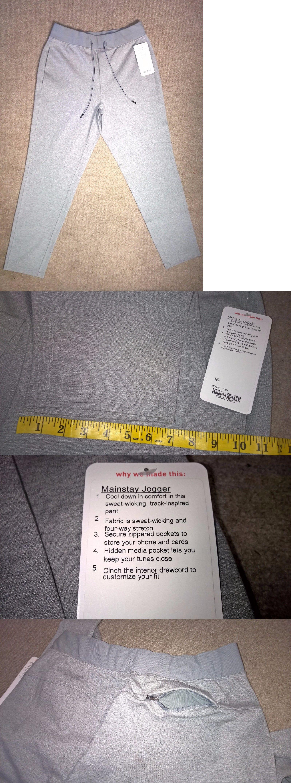 ed0543ac5 Athletic Apparel 137084  Lululemon Men S Mainstay Jogger Gray Yoga Sweat  Pants New Sz L