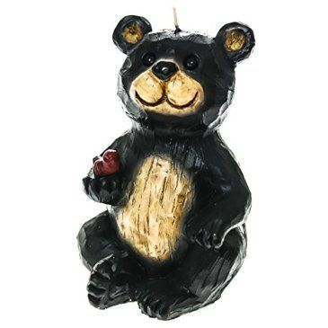 Black Bear Shaped Candle http://shop.crackerbarrel.com/Black-Bear-Shaped-Candle/dp/B013RF907S