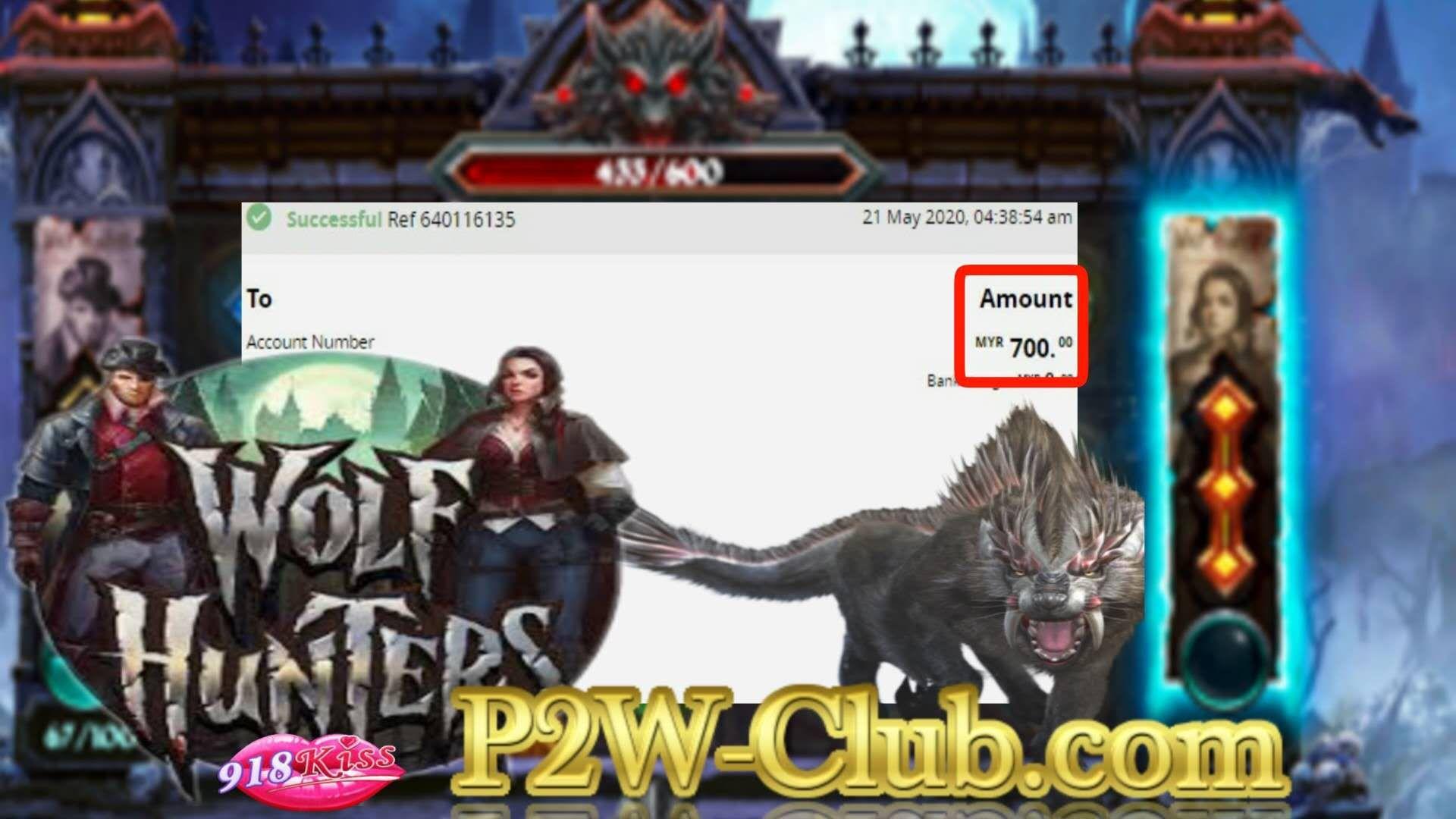 Method To Win With Wolf Hunters 918Kiss Online Casino Malaysia  P2W-Club.com