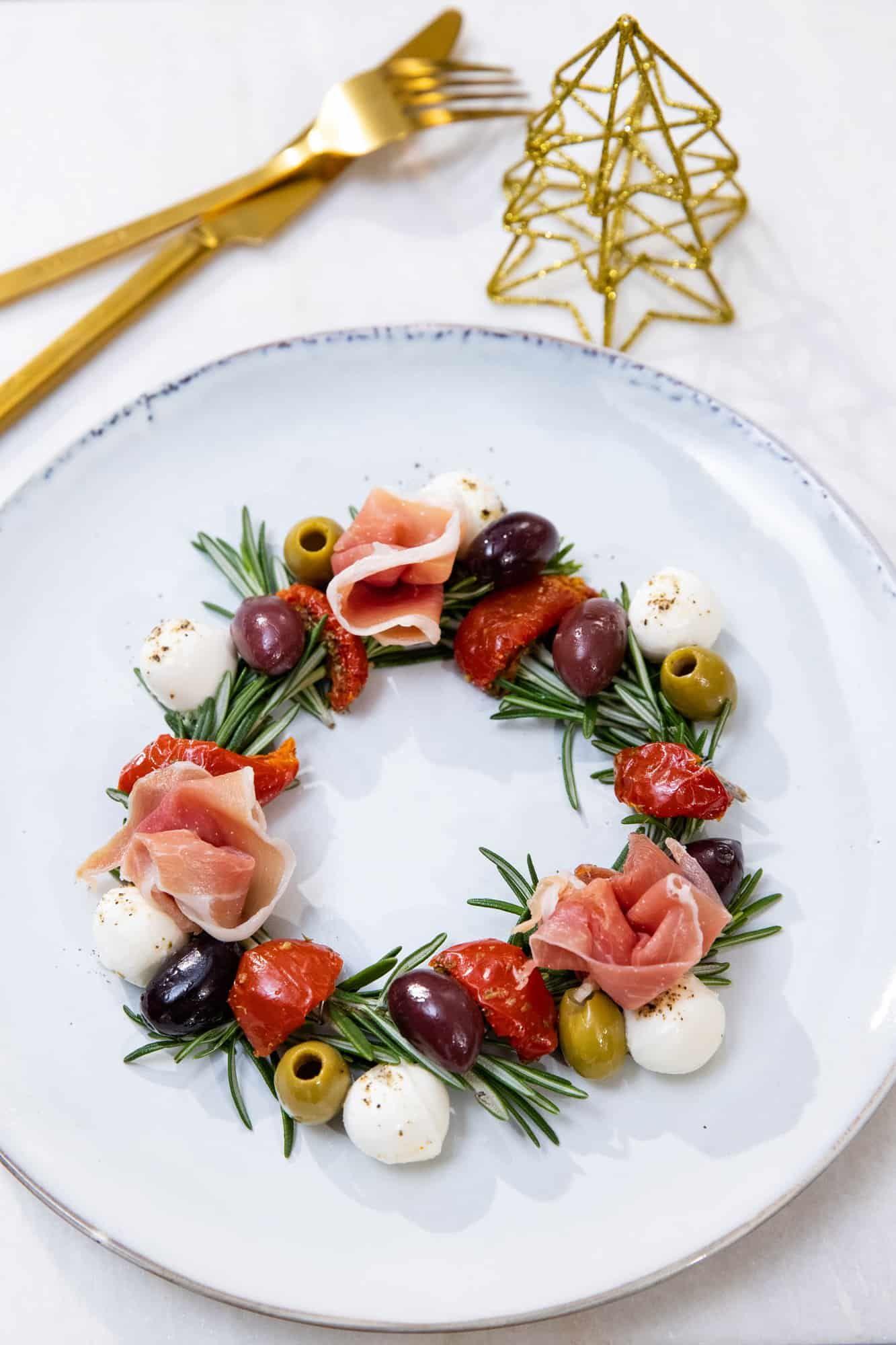 Weihnachtsessen Italien.Tapas Kerstkransje Foodblabla De Foodblog Uit Velp En Arnhem