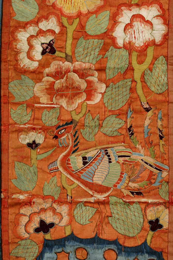 Hwarot Embroidery On Silk Late Joseon Dynasty Ca 1600 1895 Koreantextiles Art Of Korea Korean Art Korean Painting