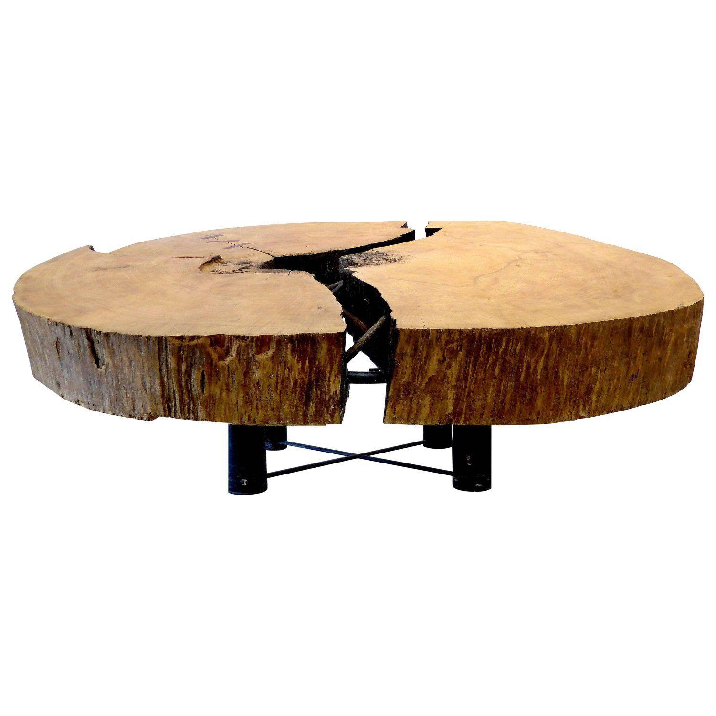 Monumental Brazilian Amazon Mirindiba Wood Tree Trunk 2016 Sculpture Table Base Wood Tree Coffee Table Wood Table Base