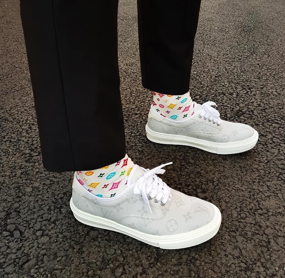 Louis Vuitton Trocadero Sneaker   i fucks with this   Pinterest ... ae893f31fd3