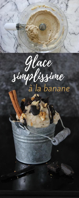 Simplissime glace à la banane