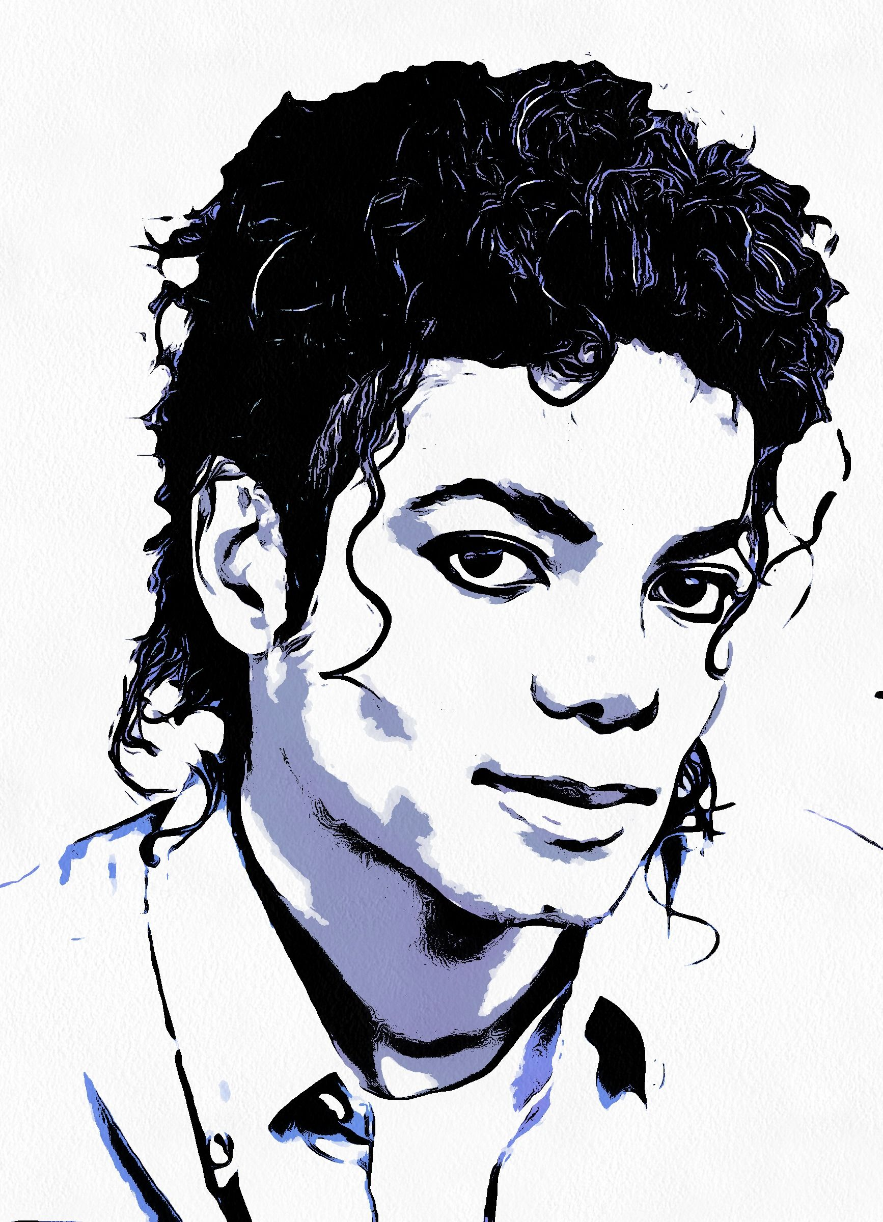 Art with soul black and white the king of pop rock and soul