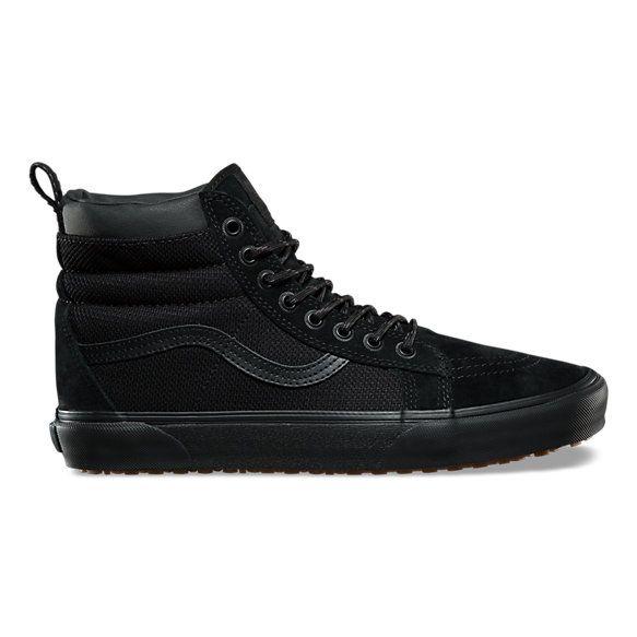 Factory Outlet Unisex Shoes Vans SK8-Hi MTE (MTE) Black/Leather