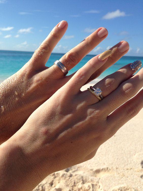Imagens de alianças lindíssimas  Imagens para Whatsapp is part of Wedding ring for her -