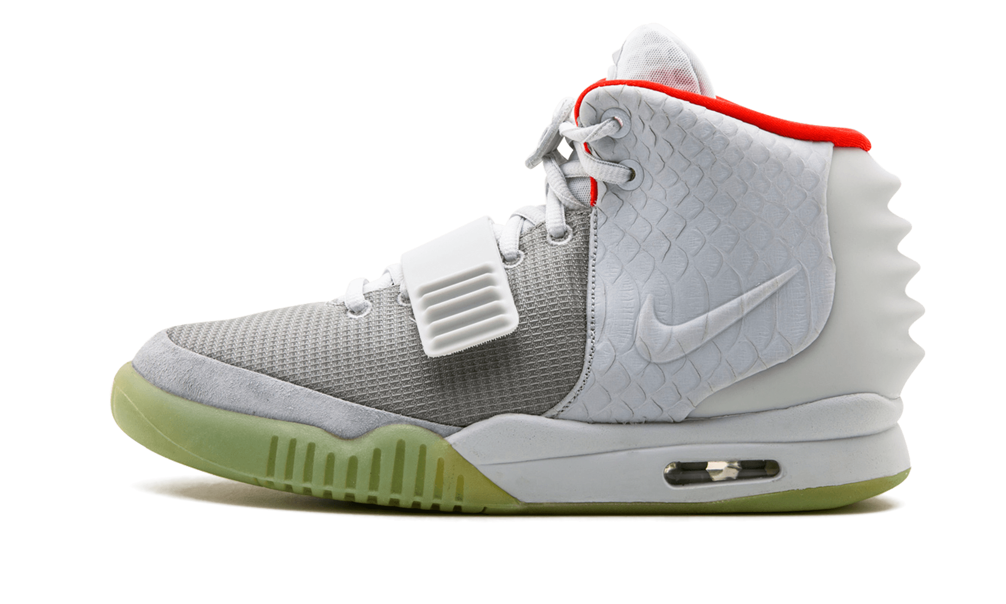 brand new d83a8 c58cd ... collaboration from Kanye West and Nike, the Air Yeezy 2, has already  achieved legendary status within the sneaker world. This Wolf Grey Pure  Platinum ...