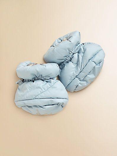 Oooohhh so cute!! Burberry - Infant's Booties - Saks.com $95
