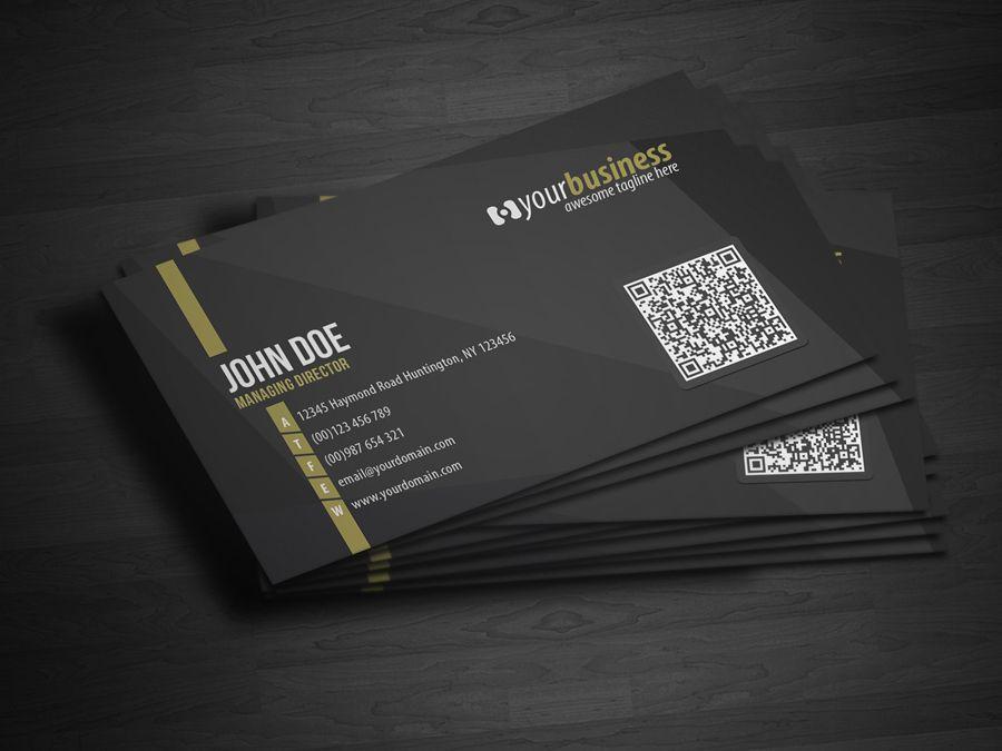 model business card qr code - Pesquisa Google | Cartões de Visita ...