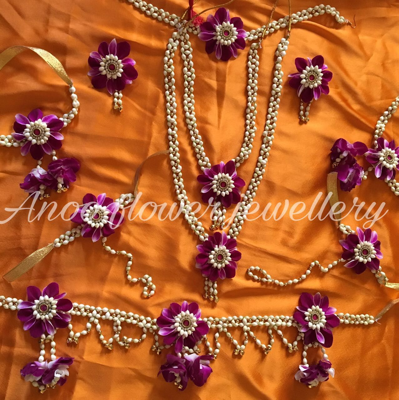 Baby Shower Flower Jwellery Wedding Flower Jewelry Floral Jewellery Flower Jewellery For Mehndi