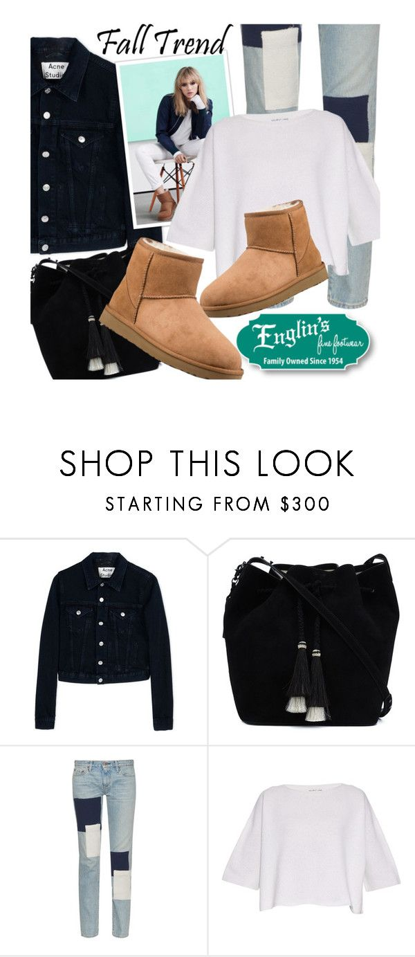 """Fall Trends with Englin's: feat. the Ugg Classic Mini II"" by honii ❤ liked on Polyvore featuring Acne Studios, Loeffler Randall, Simon Miller, UGG Australia, Helmut Lang, ugg and englinsfinefootwear"