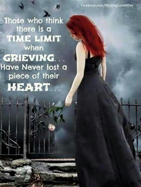 Grieving hearet